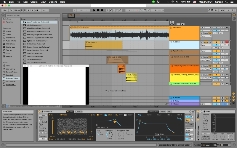 Preprocess a reference video for working with Ableton Live