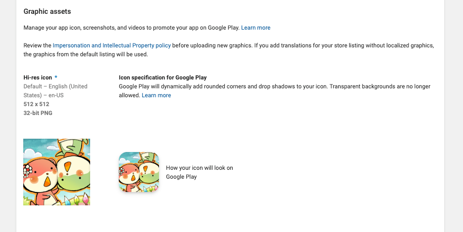 Unity & Android App Icon in 2019
