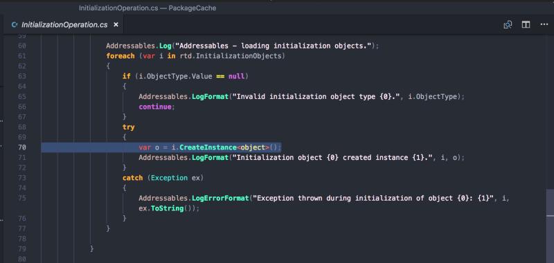 """Understanding """"Initialization Objects"""""""