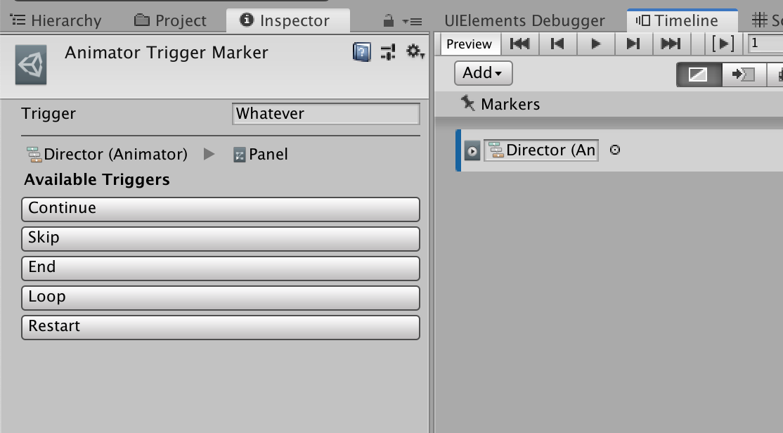 How to make a custom marker editor with UIElements : AnimatorTriggerMarker