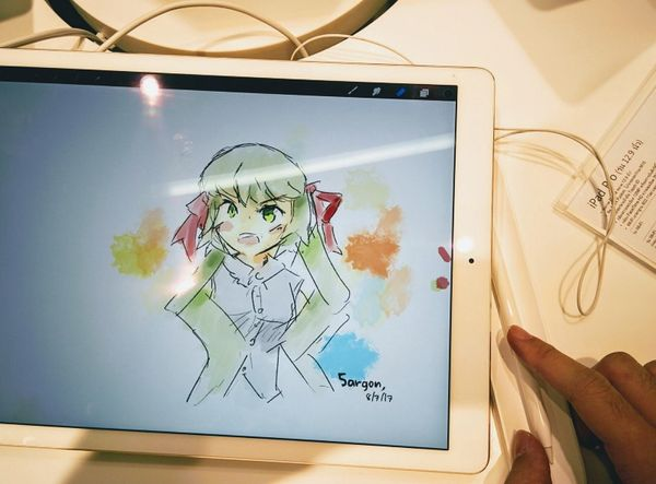 รีวิว iPad Pro สำหรับทำงานวาดภาพ